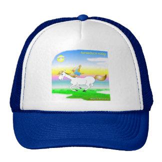 Gorra fresco de la equitación para los niños