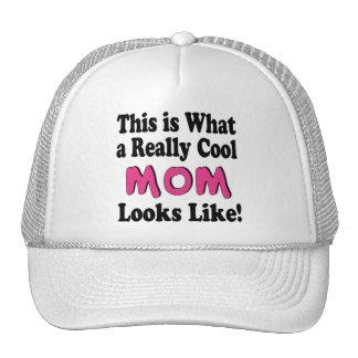Gorra fresco de la mamá