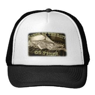 ¡Gorra fresco de los pescados! Gorras De Camionero