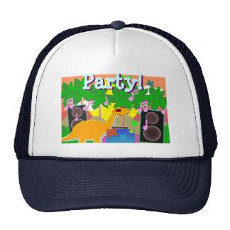 Gorra fresco del fiesta de la música de DJ del din