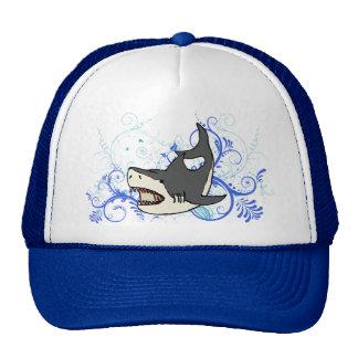 Gorra fresco del tiburón