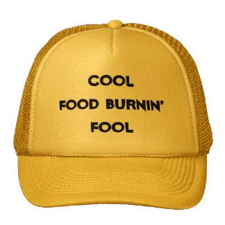 Gorra fresco del tonto de Burnin de la comida