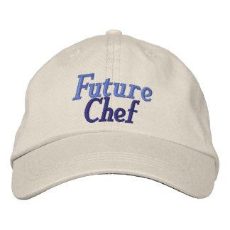 Gorra futuro del cocinero de la diversión gorra bordada