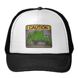 Gorra futuro del conductor del verde del camión de