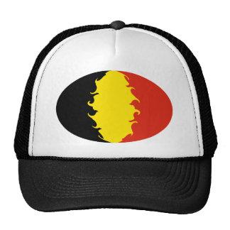 Gorra Gnarly de la bandera de Bélgica