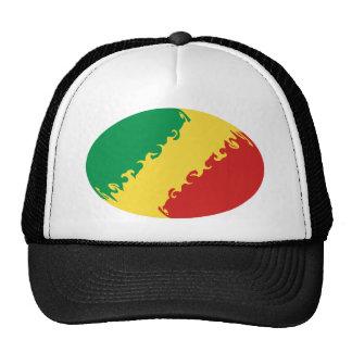 Gorra Gnarly de la bandera de Congo-Brazzaville