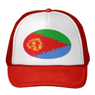 Gorra Gnarly de la bandera de Eritrea
