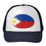 Gorra Gnarly de la bandera de Filipinas
