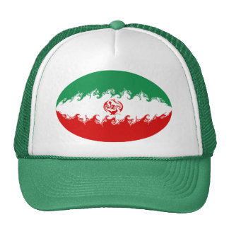 Gorra Gnarly de la bandera de Irán