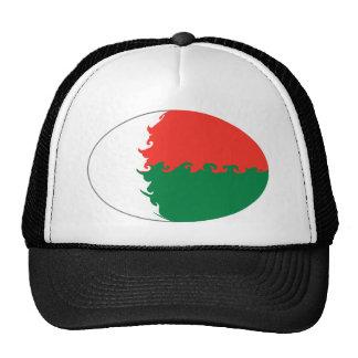 Gorra Gnarly de la bandera de Madagascar