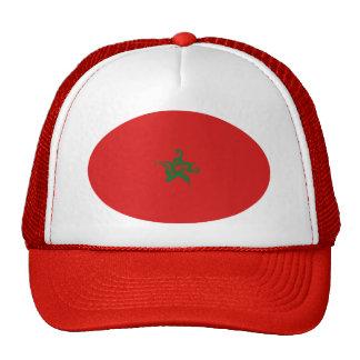 Gorra Gnarly de la bandera de Marruecos