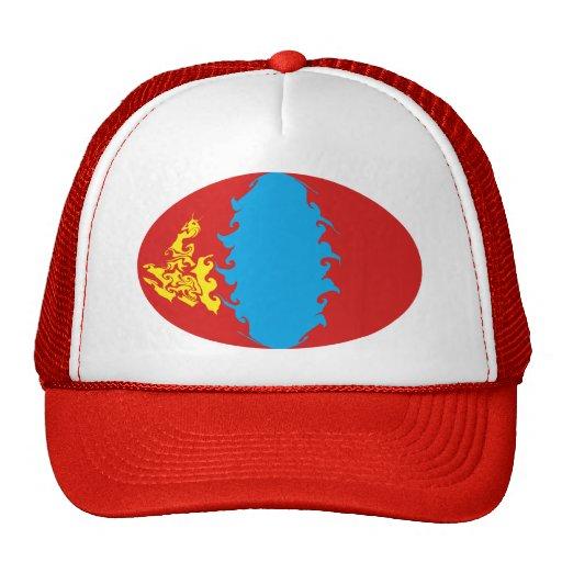 Gorra Gnarly de la bandera de Mongolia