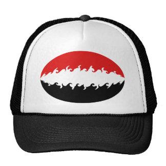 Gorra Gnarly de la bandera de Yemen