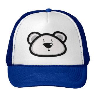 Gorra gordo del oso polar
