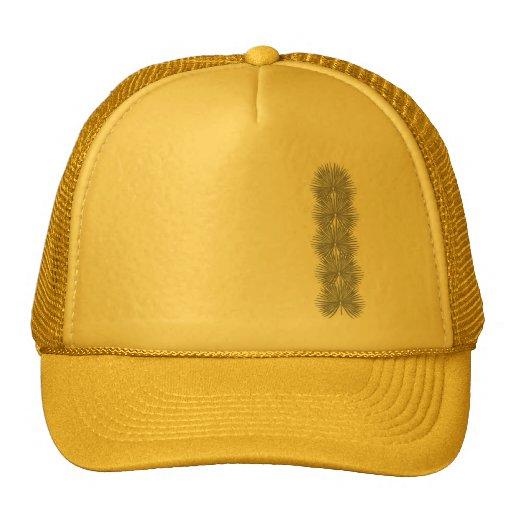 Gorra gráfico del camionero de las palmas salvajes
