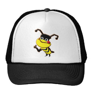 Gorra grande de la abeja