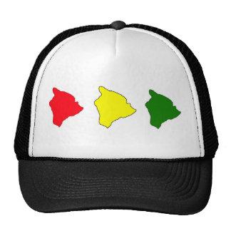 gorra grande de la isla del rasta