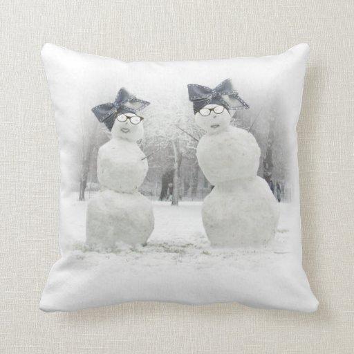 Gorra grande del arco para los muñecos de nieve y  almohadas