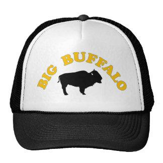 Gorra grande del camionero del búfalo