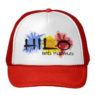 Gorra grande del rojo de la isla de Hawaii de la s