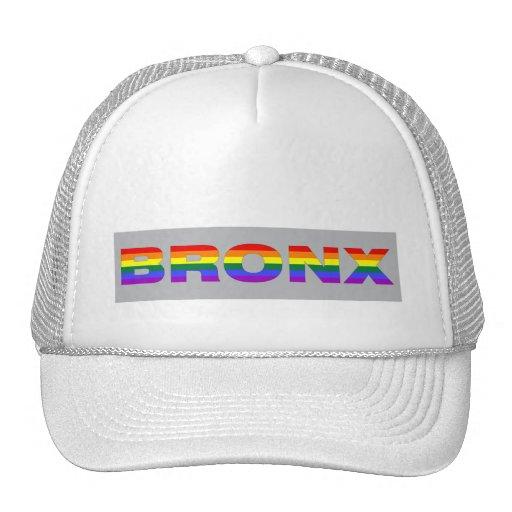 """Gorra """"gris"""" gay de Bronx"""