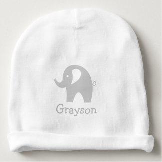 Gorra gris lindo conocido de encargo de la gorrita gorrito para bebe