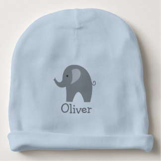 Gorra gris lindo de encargo de la gorrita tejida gorrito para bebe