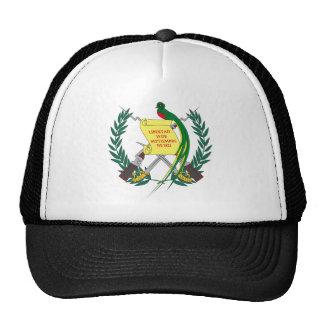 Gorra guatemalteco del escudo de armas