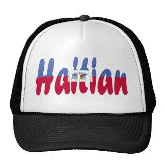 Gorra haitiano de la bandera