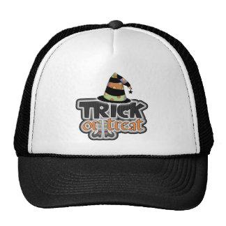 Gorra Halloween de la bruja del truco o de la invi