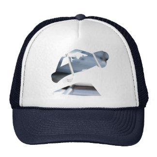 Gorra hambriento del camionero del logotipo del ac
