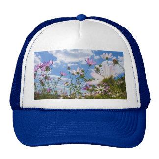 gorra hermoso de las flores