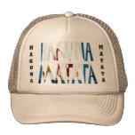 Gorra hermoso del camionero de Hakuna Matata