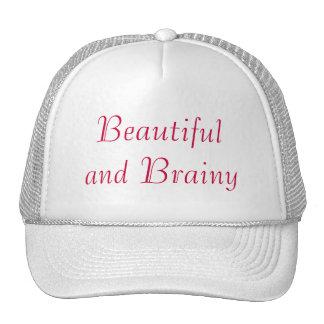 Gorra hermoso e inteligente