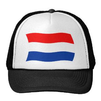 Gorra holandés de la bandera