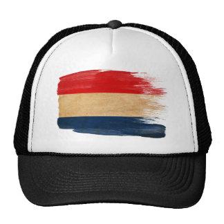 Gorra holandés del camionero de la bandera