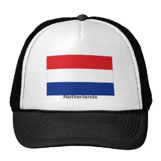Gorra holandés holandés del recuerdo de la bandera