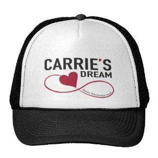 Gorra ideal del camionero de Carrie