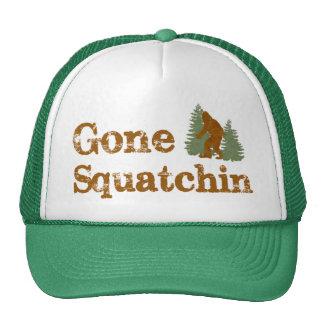 ¡Gorra ido del camionero de Squatchin del mejor Bo Gorros