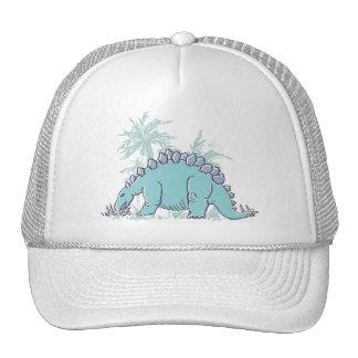 Gorra ilustrado Stegosaurus del dinosaurio de los