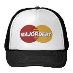 Gorra importante de la deuda
