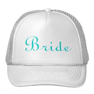 Gorra indicado con letras de la novia del trullo