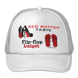 Gorra inferior rojo