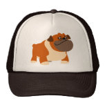 Gorra inglés lindo del dogo