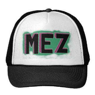 Gorra intrépido de las letras de Mez