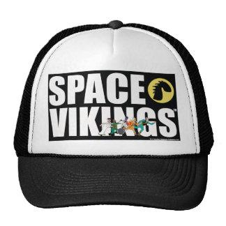 Gorra intrépido del logotipo de Vikingos del espac