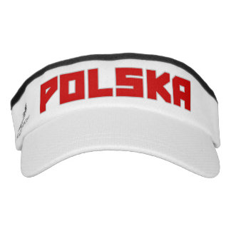 Gorra intrépido del visera del texto de Polska Visera