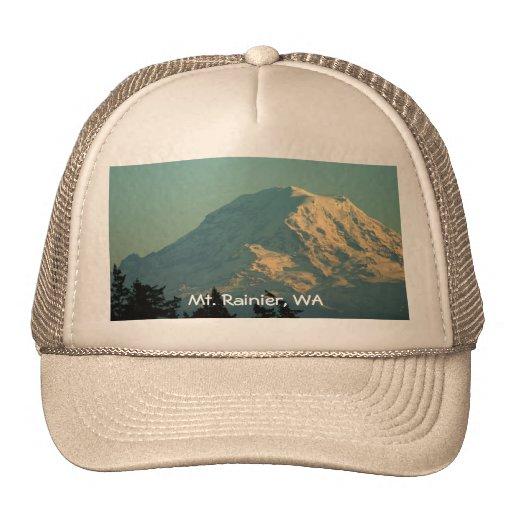 Gorra: Invierno el Monte Rainier