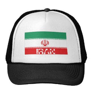 Gorra iraní del recuerdo de la bandera de Irán