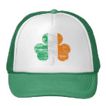 Gorra irlandés apenado del camionero del trébol de